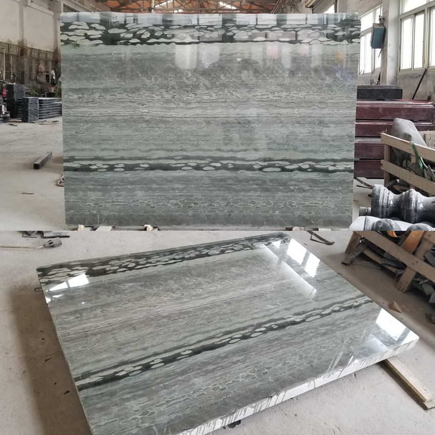 New New Marble Black Emerald Wood Vein from China