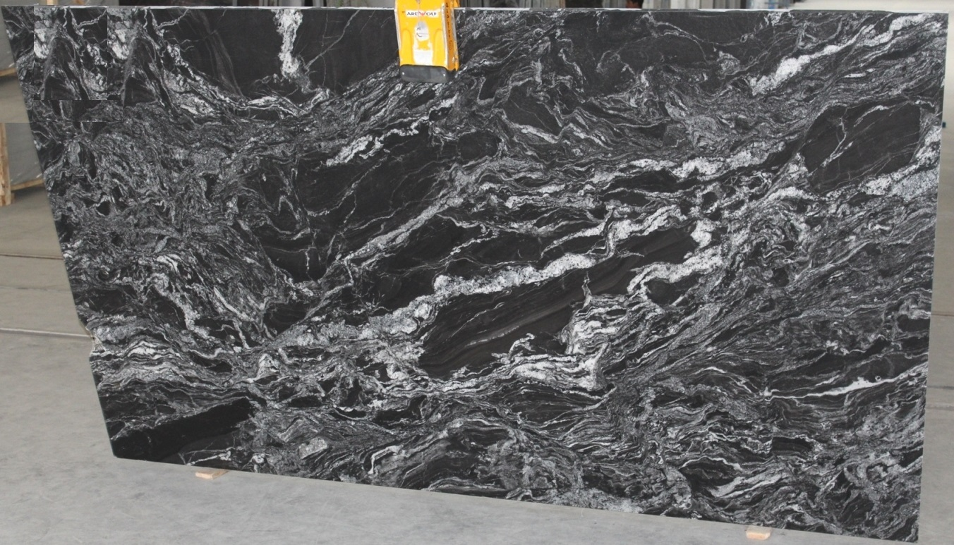 Black Forest Granite Polished Slabs