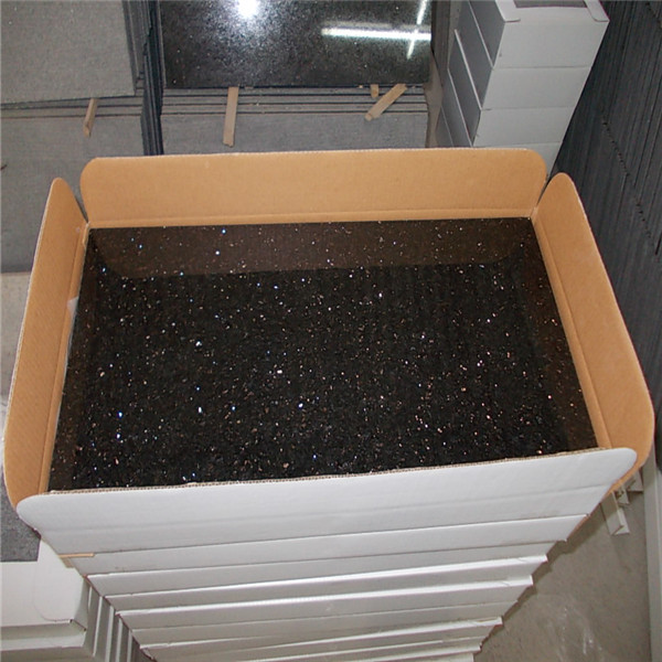 Black Galaxy Granite Tiles 30 60cm 30 30cm