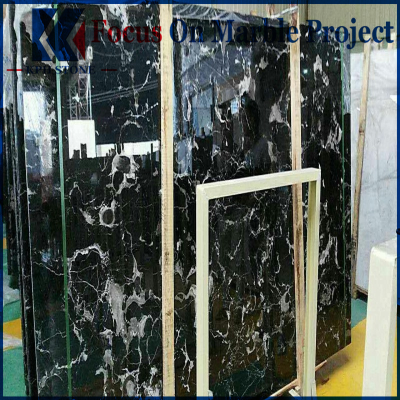 Black Rose Marble Wall Cladding