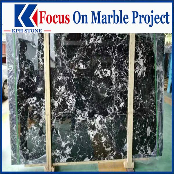 Black rose marble
