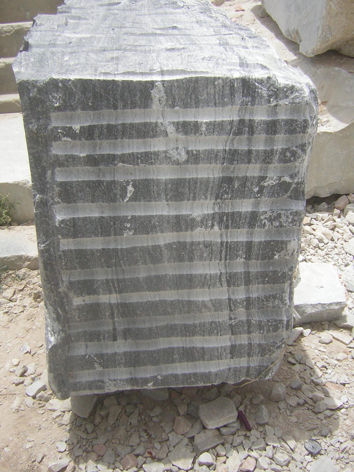 Black Marble Block