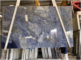 Azul Bahia Granite Slabs for Countertop Design
