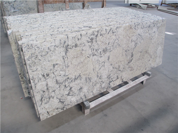 blue ice granite countertop