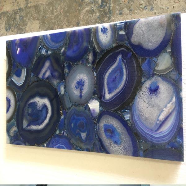 Blue Eye Semiprecious Stone