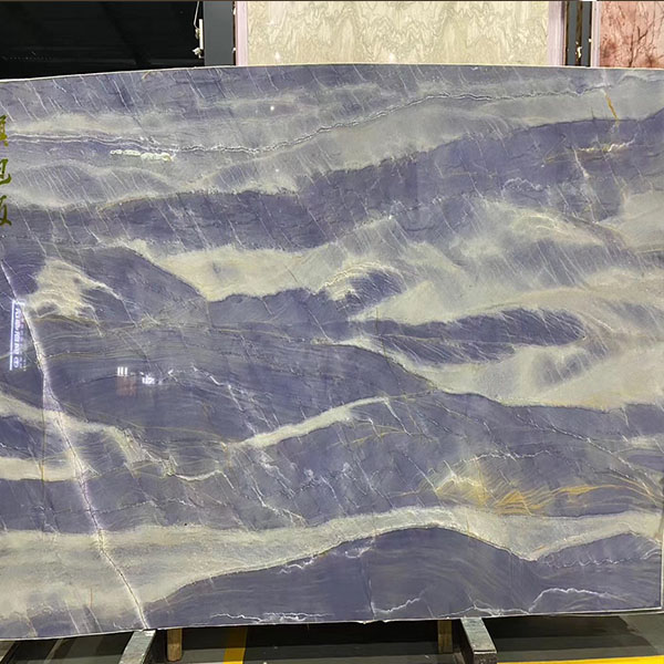 Blue luxury stone