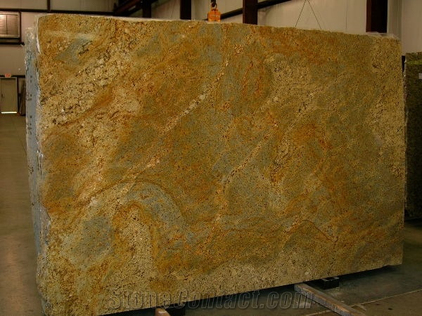 Brazil yellow river granite