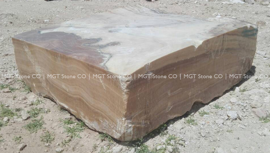 Brown Onyx Block