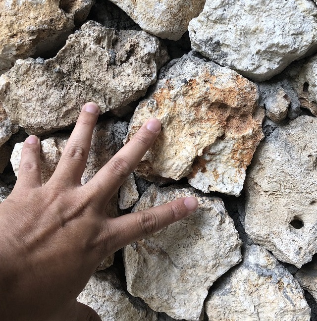 Bali Bukit White Beige Limestone Natural Boulder