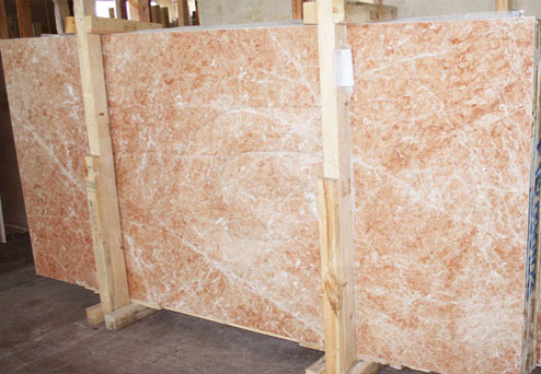 burdur red marble slabs