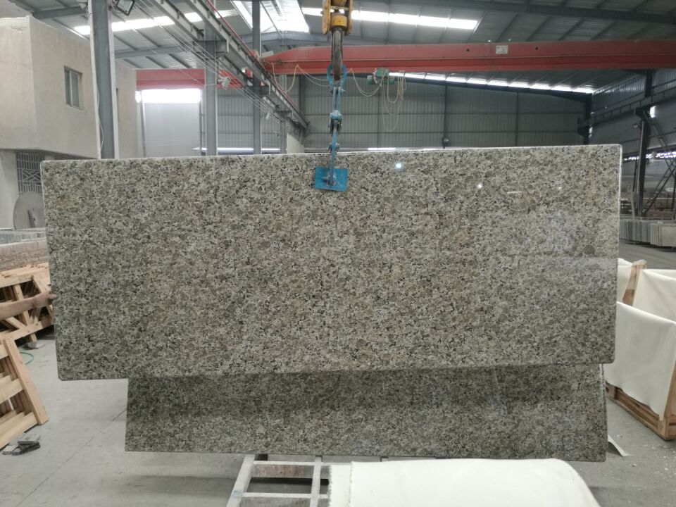 butterfly yellow granite top