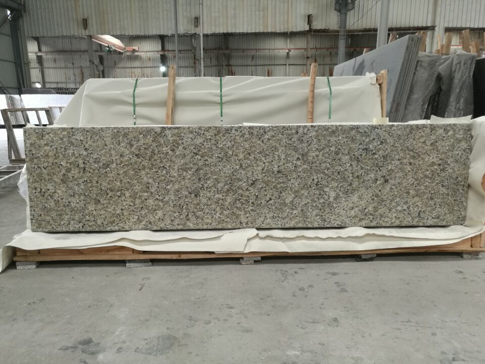butterfly yellow granite kitchen top