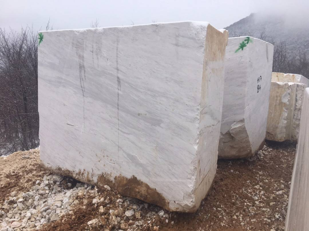 Volakas Arabesque Marble Blocks