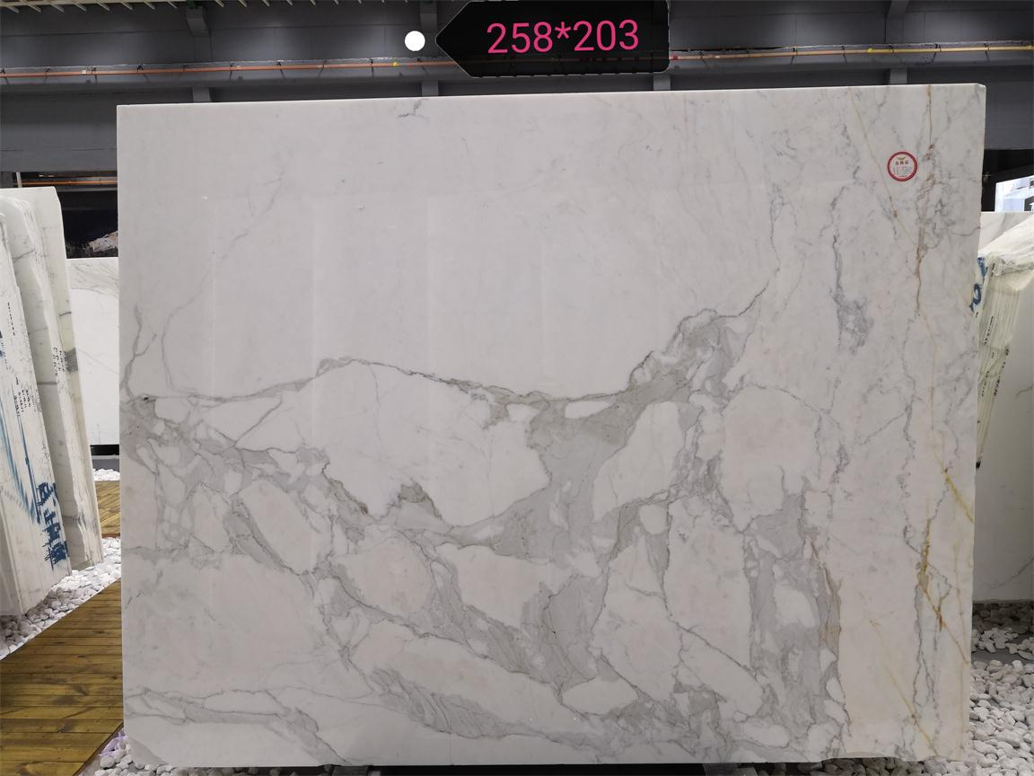 Calacatta Marble Slabs White Polished Marble Slabs