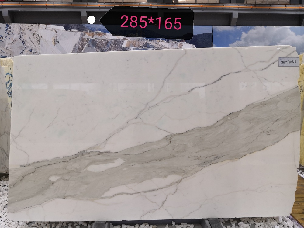 Calacatta White Marble Slabs Italian White Polished Marble Slabs