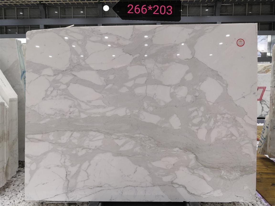 Catalatta Polished White Marble Slabs