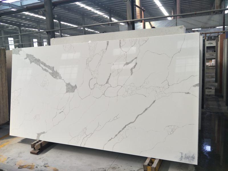 calacatta quartz stone