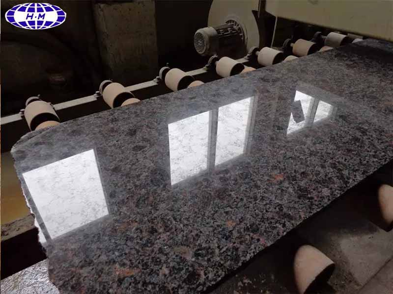 California Brown Granite Slabs Tiles