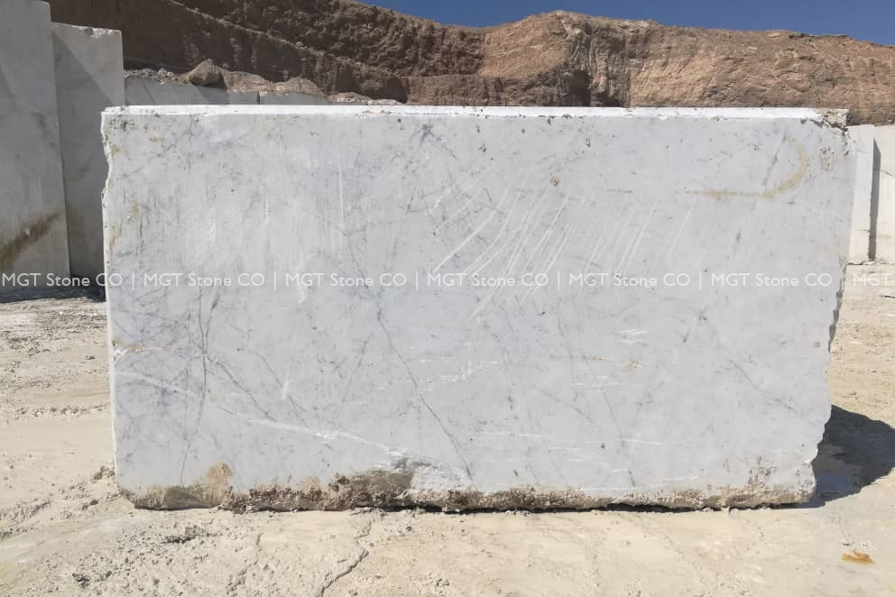 Persian Carrara Marble Block