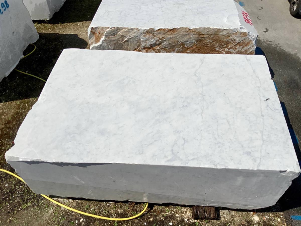 White Carrara Blocks