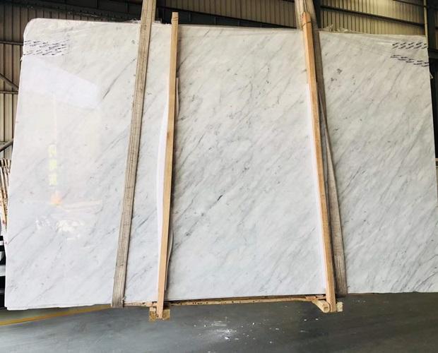 Carrara White Marble Slab for Interior Design