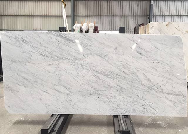 Italy Carrara white Marble Polished Tiles & Slabs