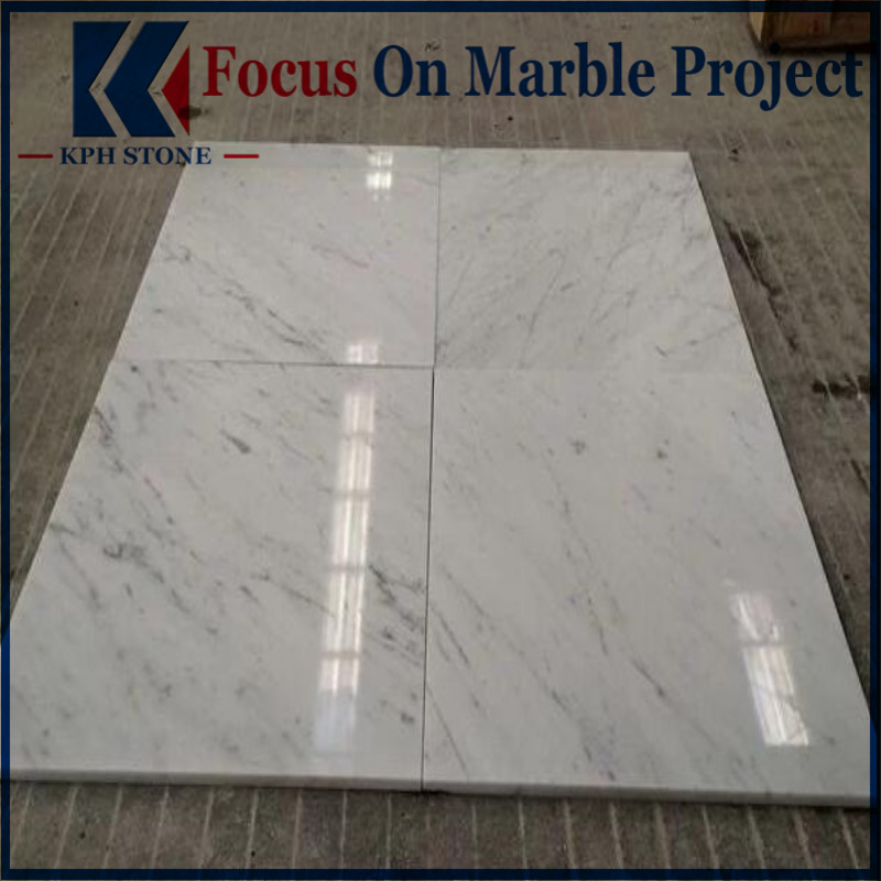 Bianco Cararra White Marble Floor Wall Tiles