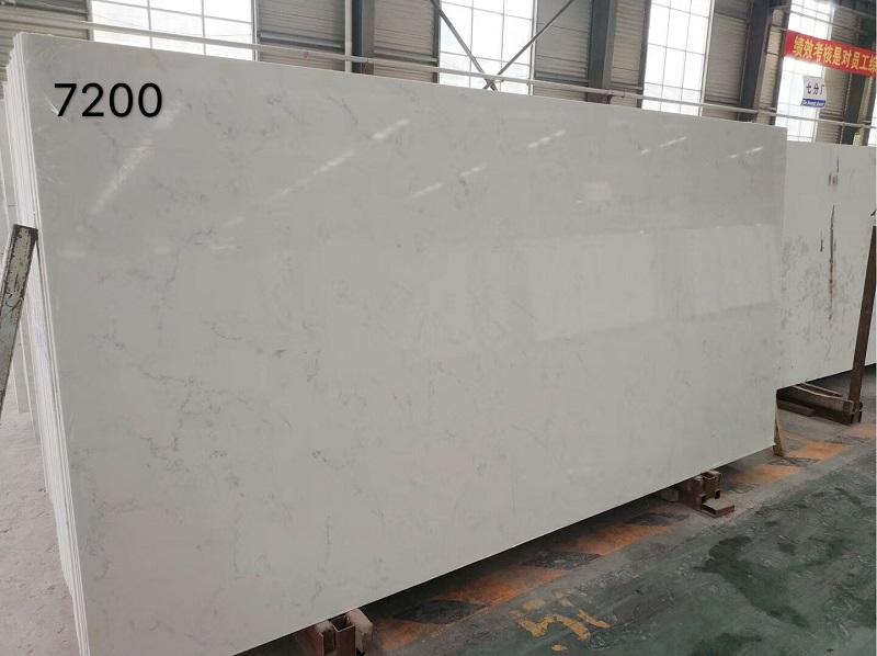 carrera looking quartz stone slab