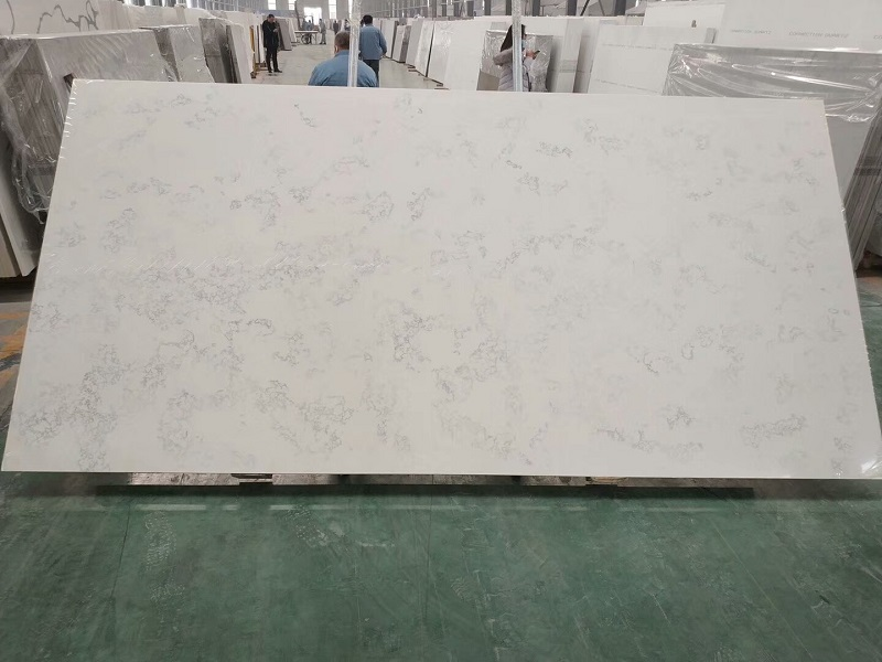 carrera quartz stone slab
