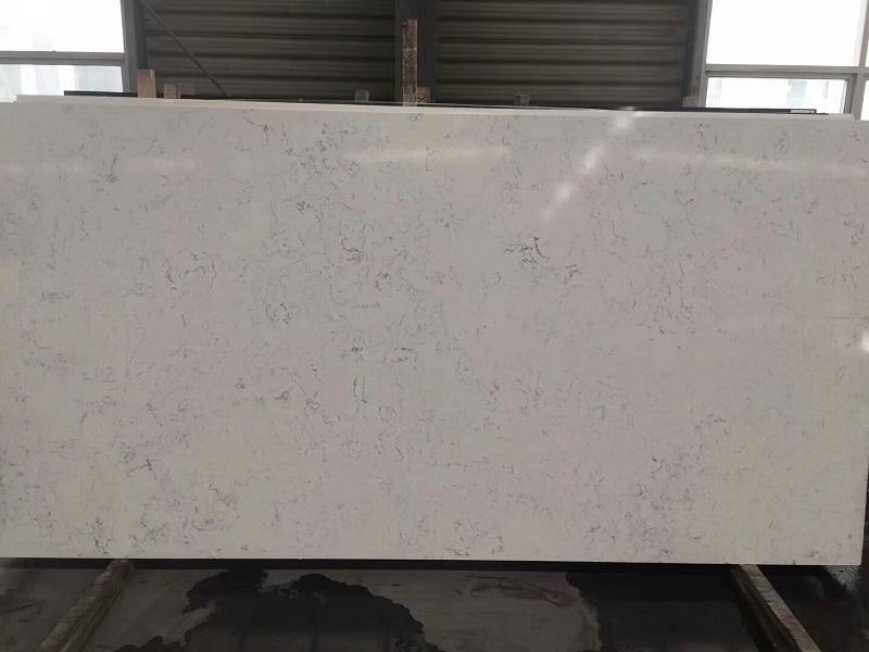 carrera quartz stone slab