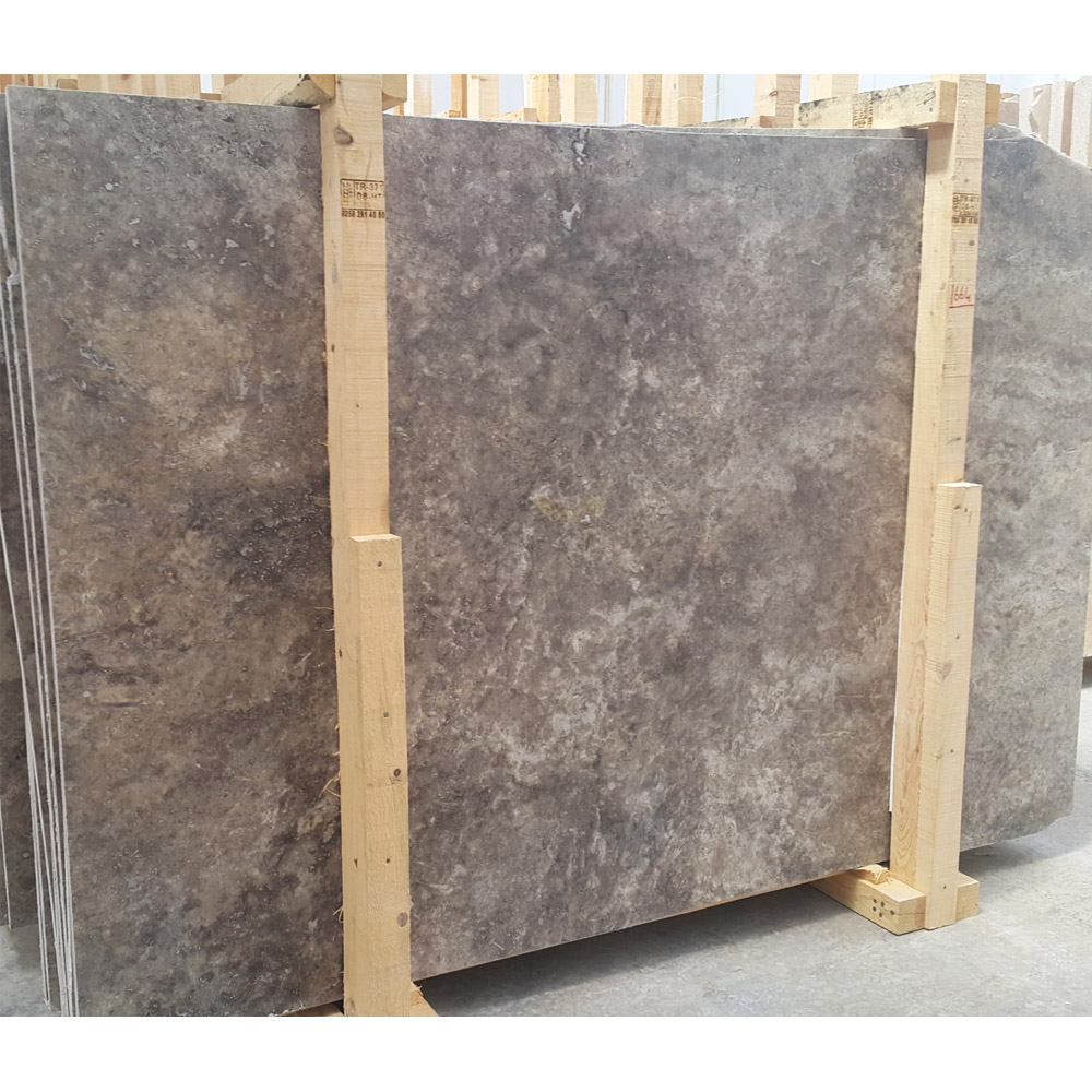 Silver Travertine Slab and cut to size