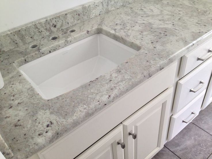Andromedia White granite top