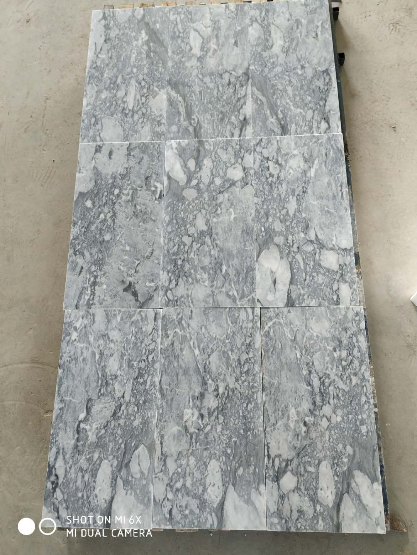 Charon Grey Natural Marble Tile 12x24inch Bathroom