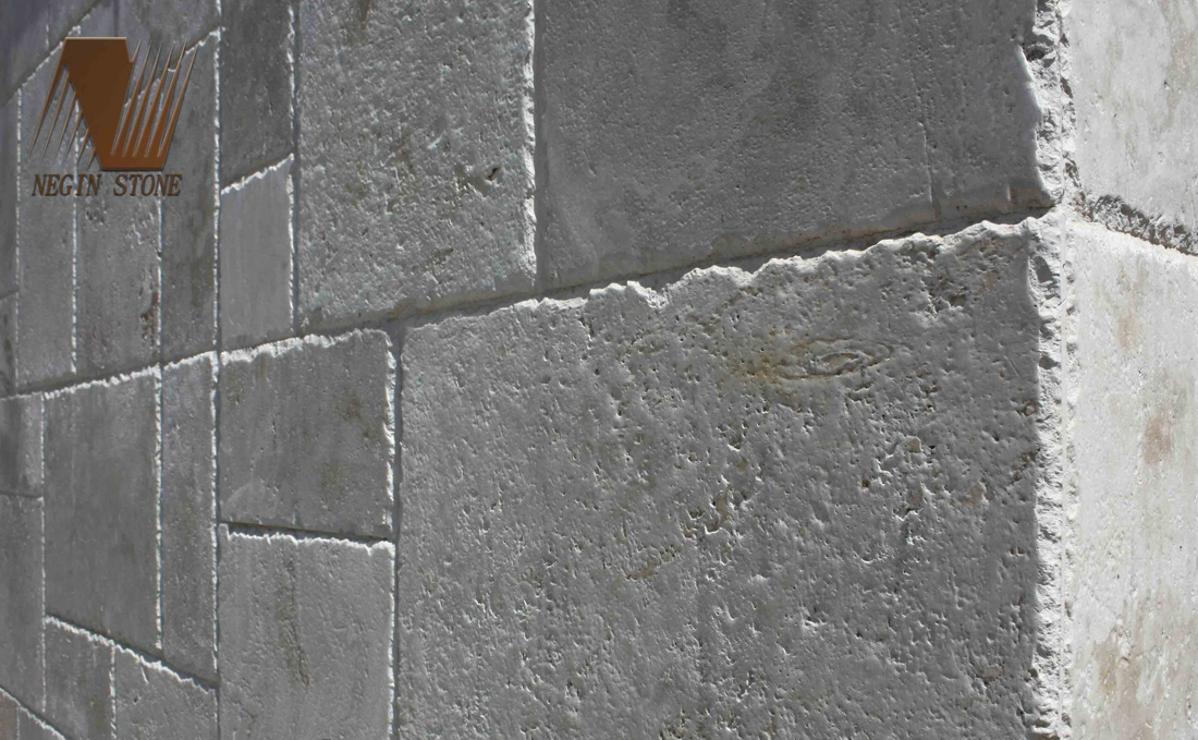 chiseled natural stone