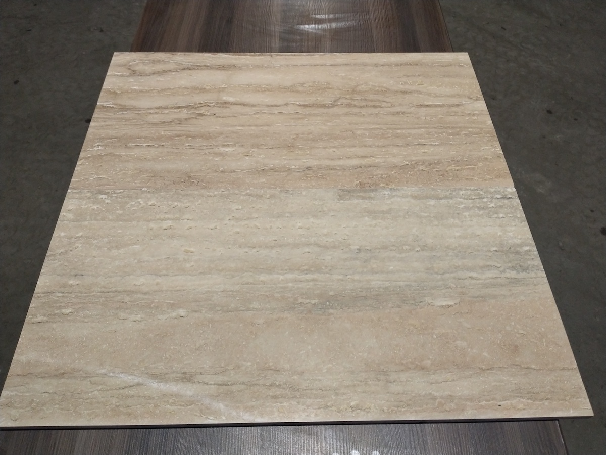 Classic Travertine Vein Cut Filled-Polished Tile