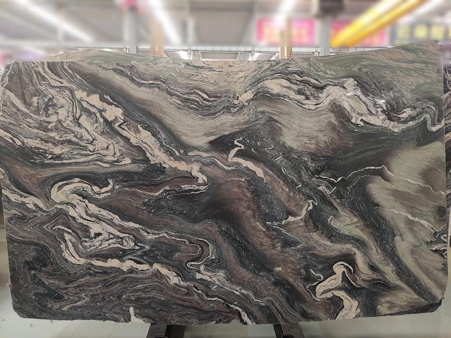 Italy multicolor cipolino marble