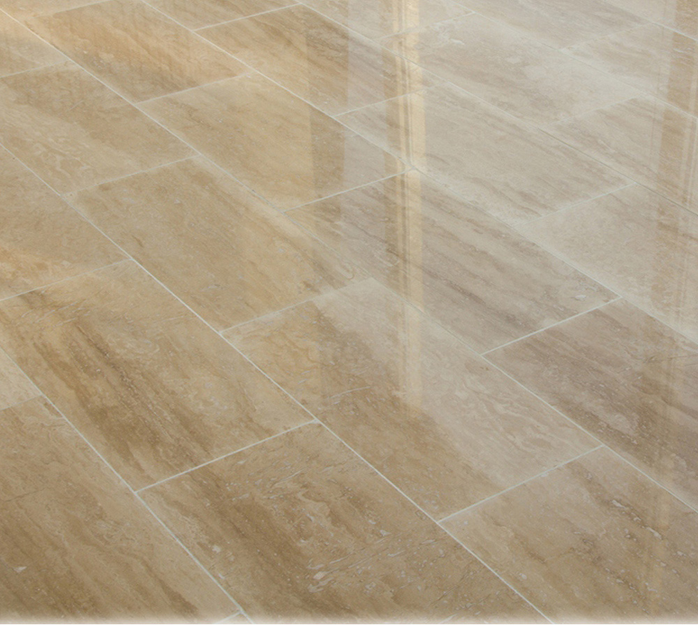 Classic Travertine Vein Cut Tiles