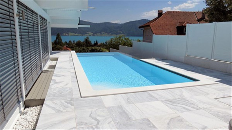 China Cloud Gray Marble Tiles