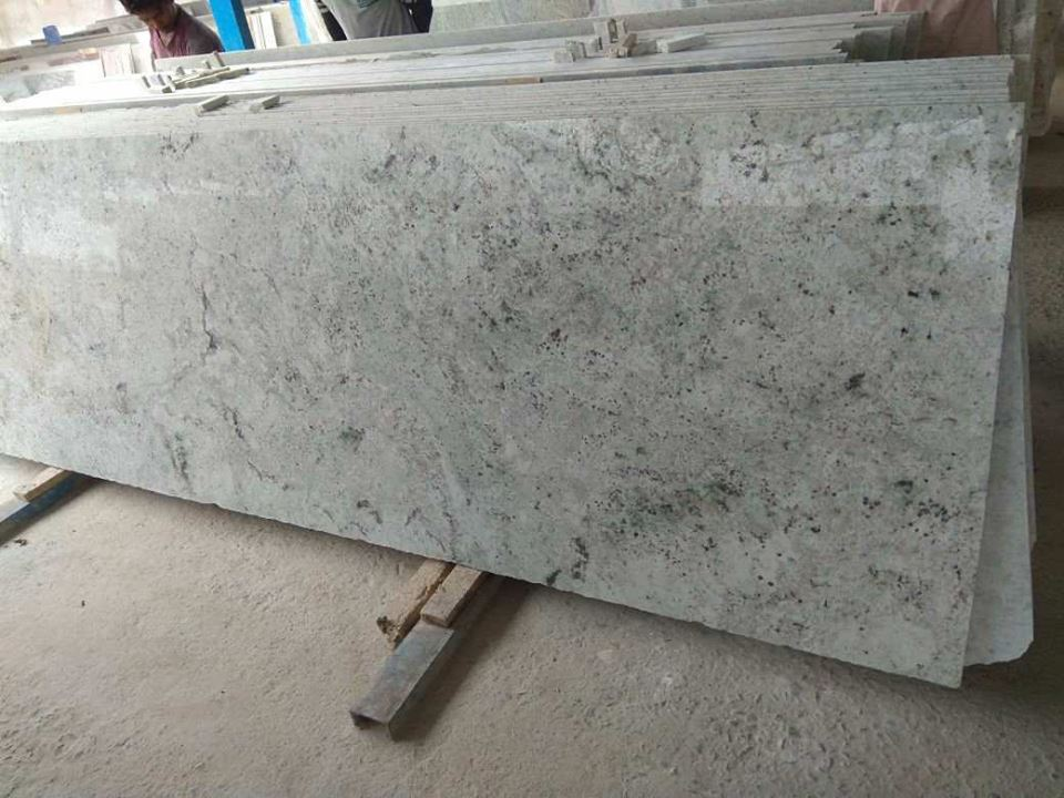 Colonial White -4s Green Granite