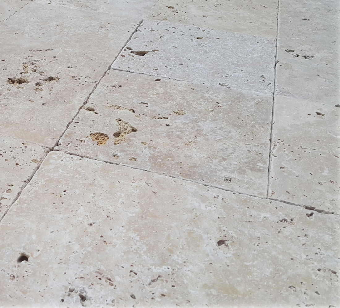 Cheapest Turkish Travertine Tumbled Tile Commercial