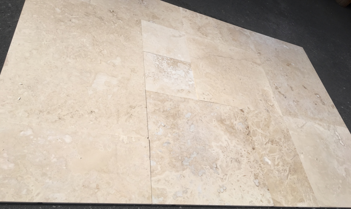 Light Commercial Travertine