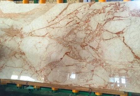 Copper White marble