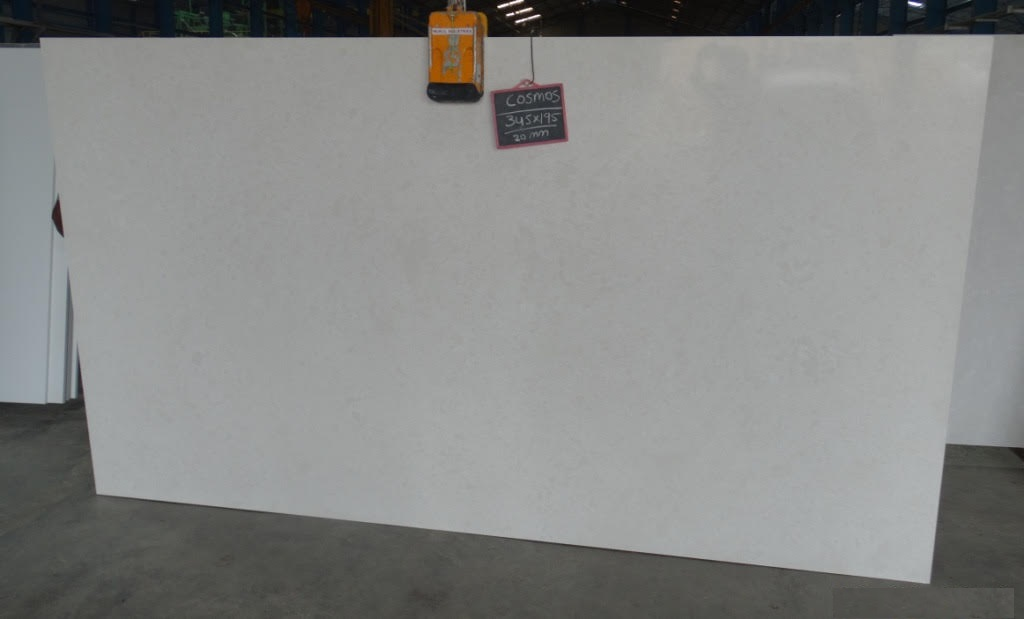 Cosmos White Quartz Slabs