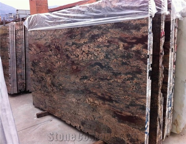 Crema bordeaux granite