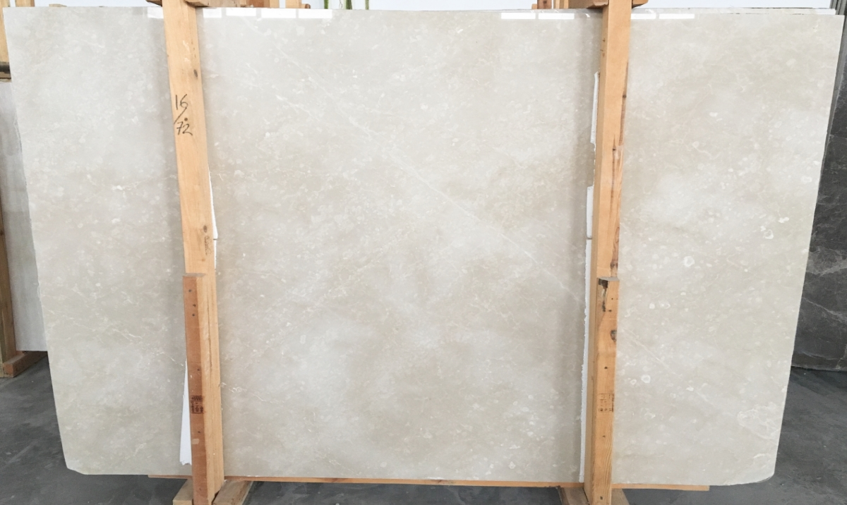 Cream Beige Polished Marble Slabs