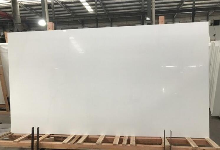 Nano Glass Artificial White Marble Stone Slabs