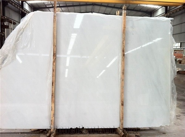 Crystal White  Sichuang White Marble Slabs
