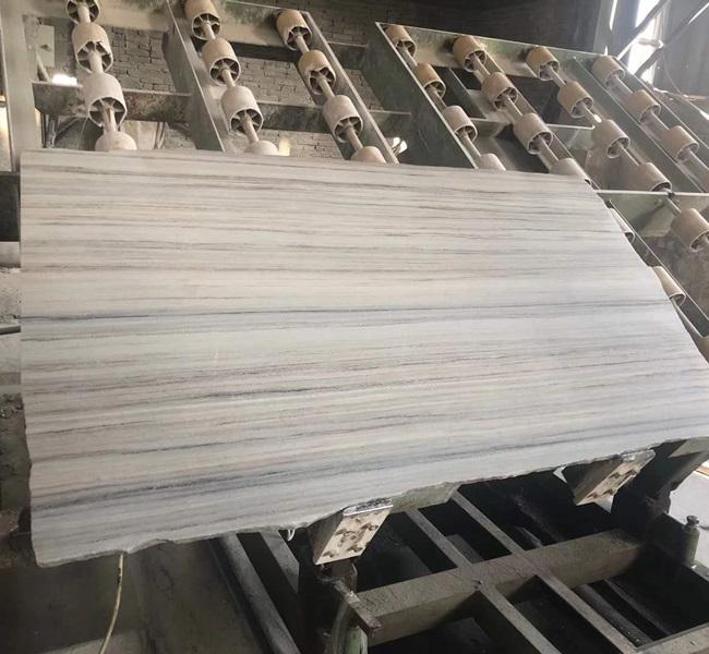 Polished Crystal Wood Grain Marble Slabs