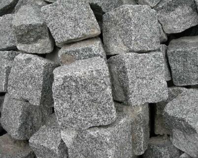 Chinese granite cube stone
