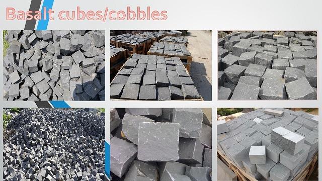 basalt cubes